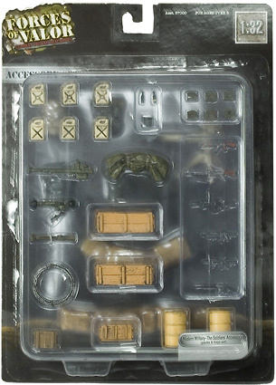 Accesorio Militar Moderno, 1:32, Forces of Valor