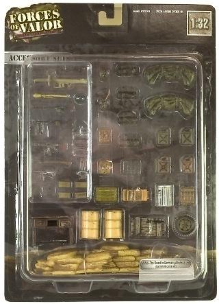 Accesorios para diorama 2ª Guerra Mundial