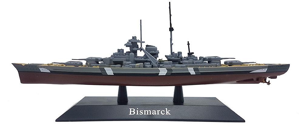 Acorazado Bismarck, Kriegsmarine, 1939, 1:1250, DeAgostini