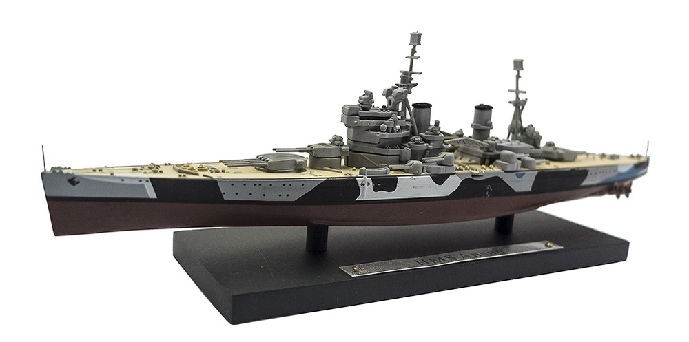 Acorazado HMS Anson, Royal Navy, 1940-1951, 1:1250, Atlas