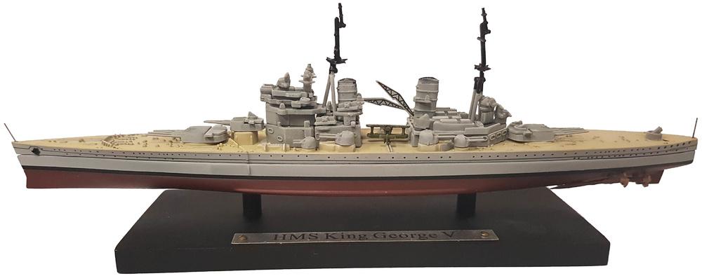 Acorazado HMS King George V, Real Armada Británica, 1911, 1:1250, Atlas