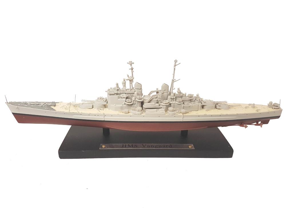 Acorazado HMS Vanguard, Real Armada Británica, 1944, 1:1250, Atlas