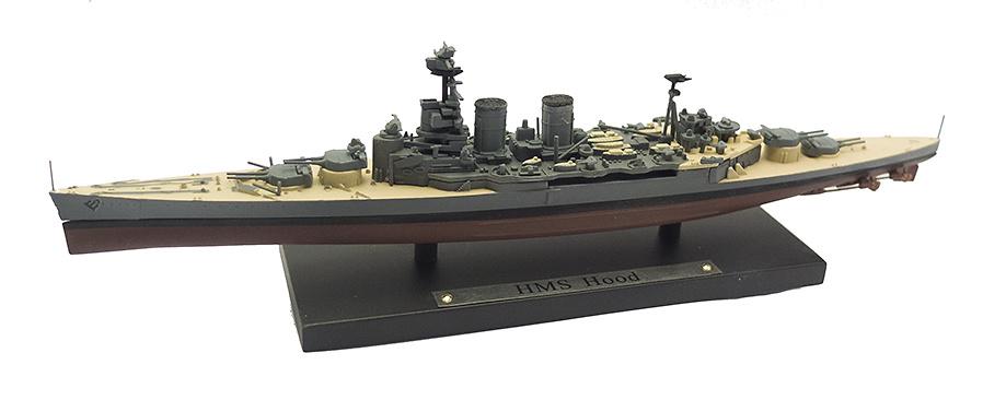 Acorazado HSM Hood, Real Armada Británica, 1920-1941, 1:1250, Atlas