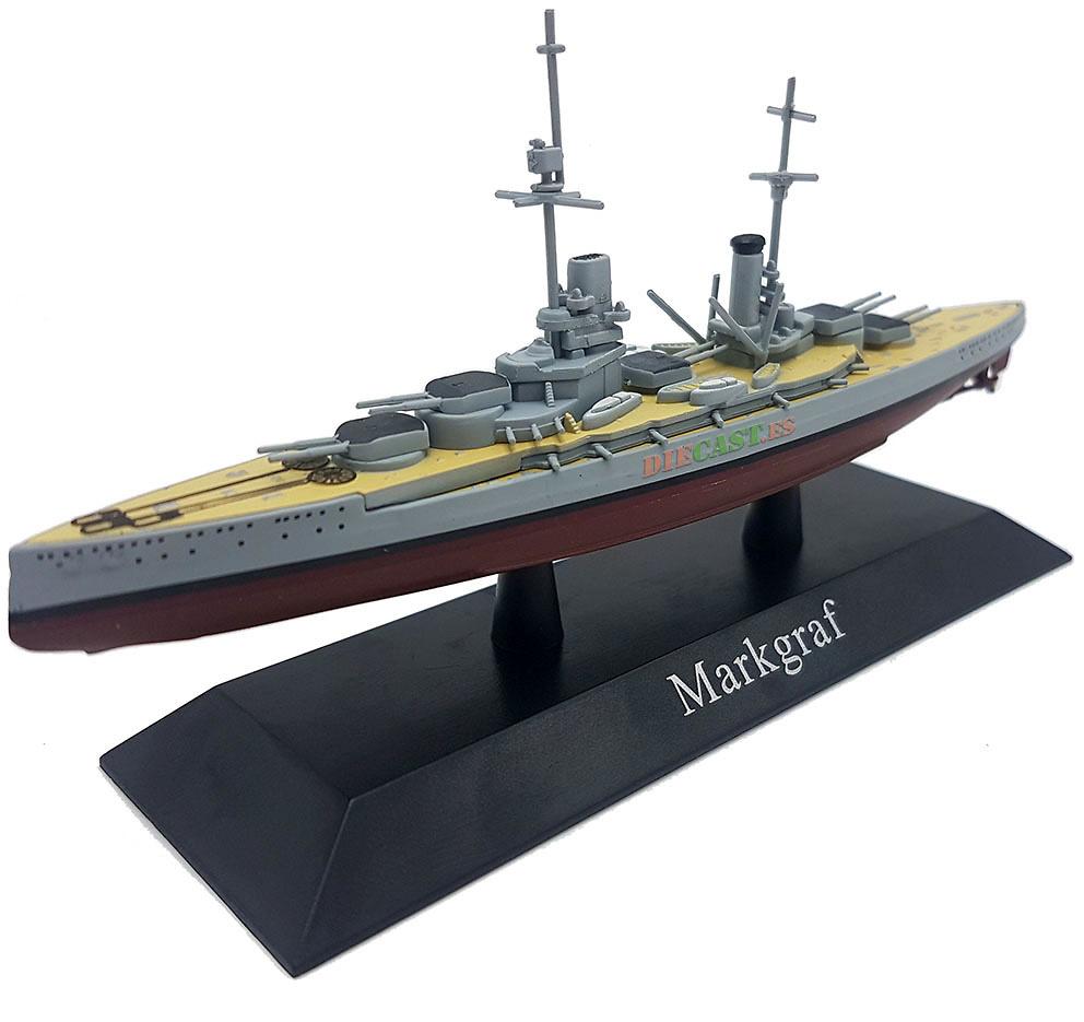 Acorazado Markgraf, Kaiserliche Marine, 1914, 1:1250, DeAgostini