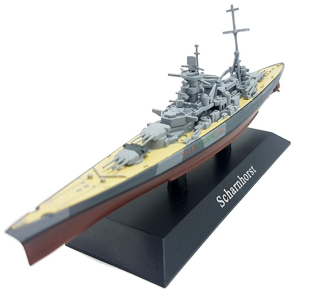Acorazado Scharnhorst, Kriegsmarine, 1939, 1:1250, DeAgostini
