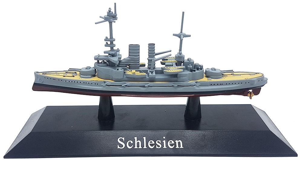 Acorazado Schlesien, Kaiserliche Marine, 1908, 1:1250, DeAgostini