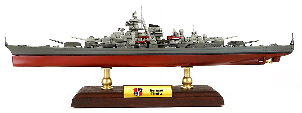 Acorazado Tirpitz, Kriegsmarine, 1939-1944, 1:700, Forces of Valor