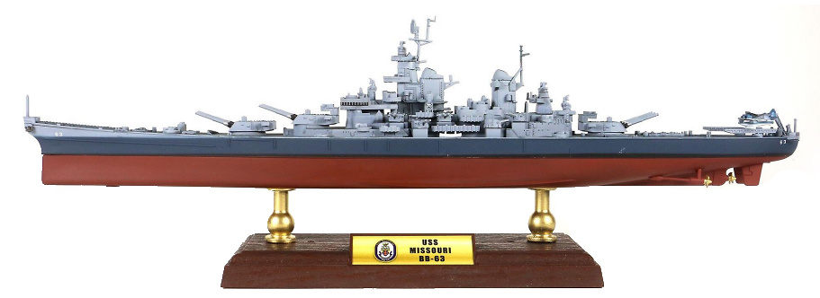 Acorazado USS Missouri BB-63, 1:700, Forces of Valor