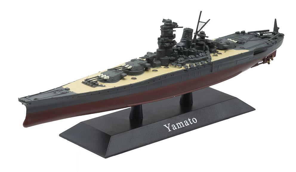 Acorazado Yamato, Armada Imperial Japonesa, 1941, 1:1250, DeAgostini