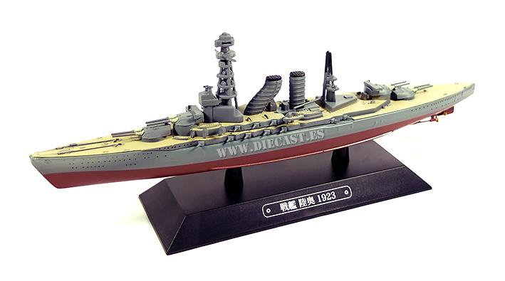 Destructor japonés Mutsu, 1923, 1:1100, Eaglemoss