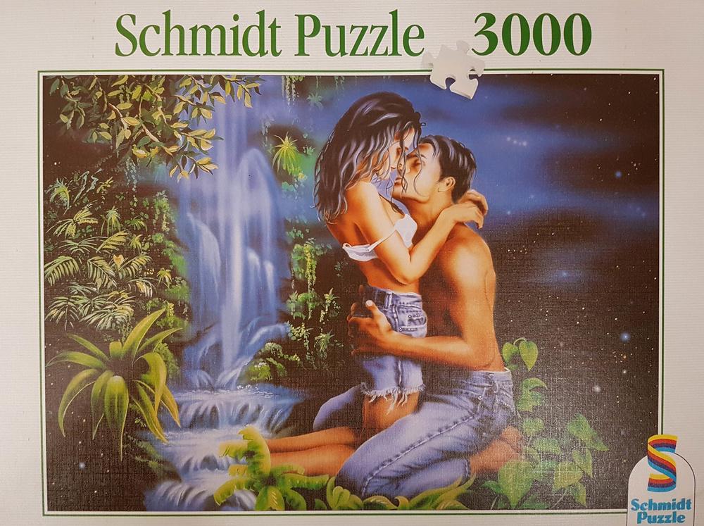 Adán y Eva, 1996, puzzle, Schmidt