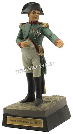 Adiós de Napoleón a la Guardia Imperial, Fontainebleau, 1814, 1:30, Ediciones Cobra