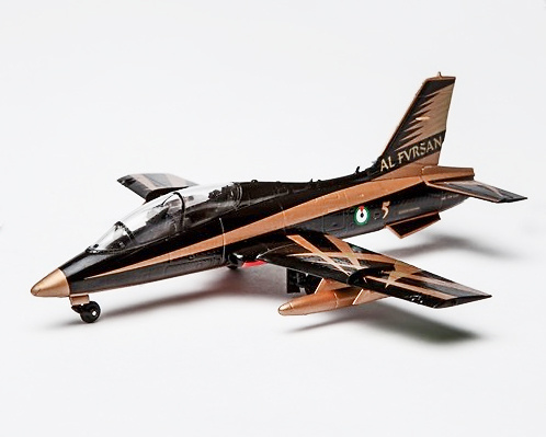 Aermacchi MB-339 UAEAF Al Fursan, Emiratos Árabes Unidos, 1:72, Air Force One