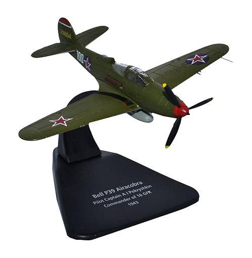 Airacobra Pokryshkin 16 GFR, 1943, 1:72, Oxford