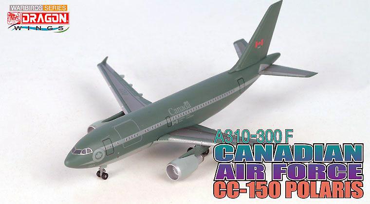 Airbus A310-300F, CC-150 Polaris, Canadian Air Force, 1:400, Dragon Wings