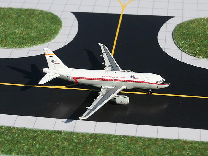 Airbus A319 EC-KKS (colores retro), Iberia, 1:400, Gemini Jets
