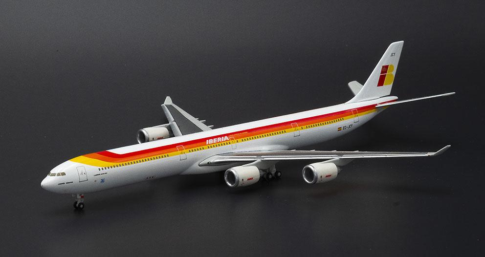 Airbus A340-600 Iberia, matrícula EC-JCY, 1:400, Hogan