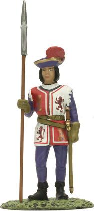 Alabardero de la Guardia de Fernando El Católico, 1505, 1:32, Altaya