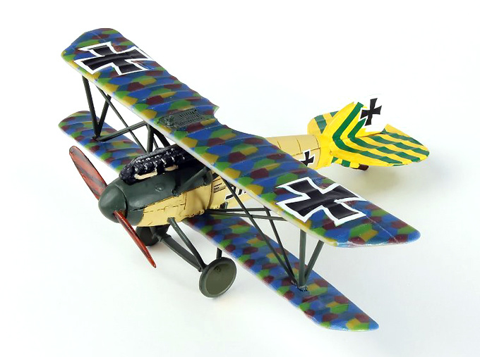 Albatros D.V Luftstreitkrafte Jasta 46, Alemania, 1:72, Wings of the Great War