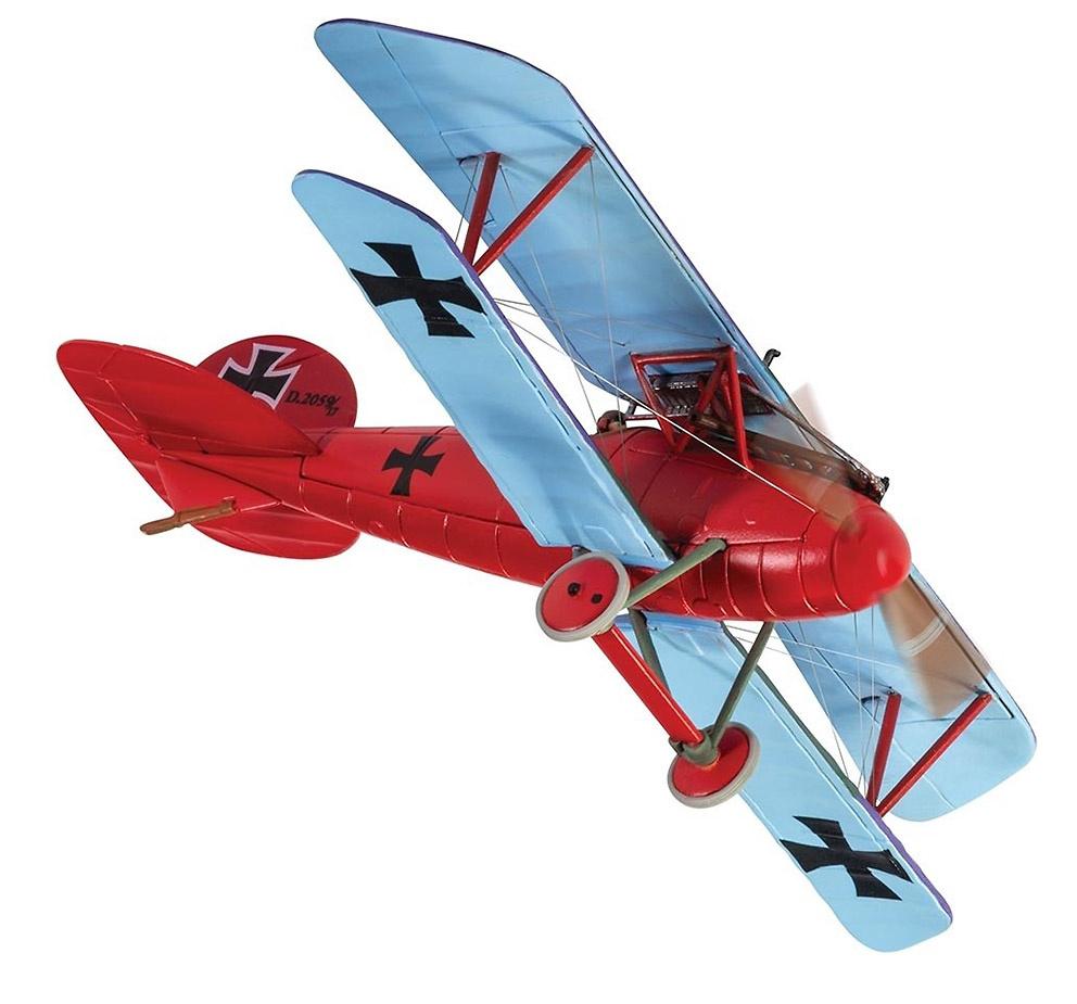 Albatros DV 2059/17, Manfred von Richthofen, JG1, Marckebeke, Agosto, 1917, 1:48, Corgi