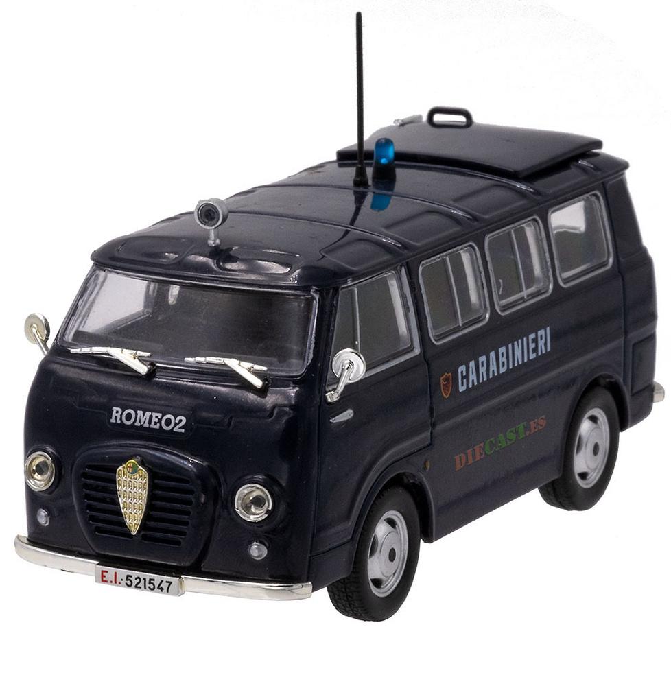 Alfa Romeo 2, 1966, 1/43, Colección Carabinieri