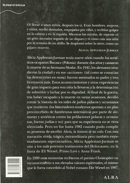 Alicia, la historia de mi vida (Libro)