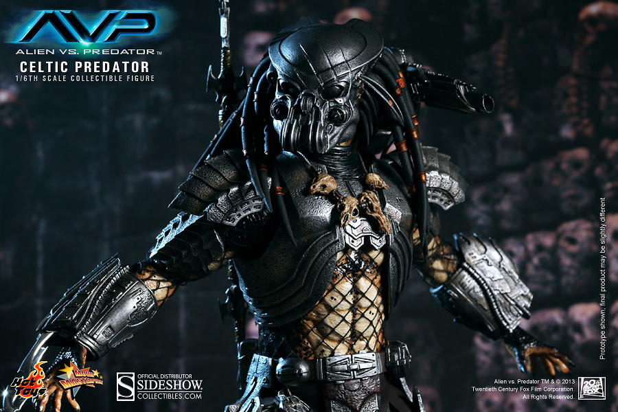 Aliens vs Predator, Celtic Predator, 1:6, Hot Toys
