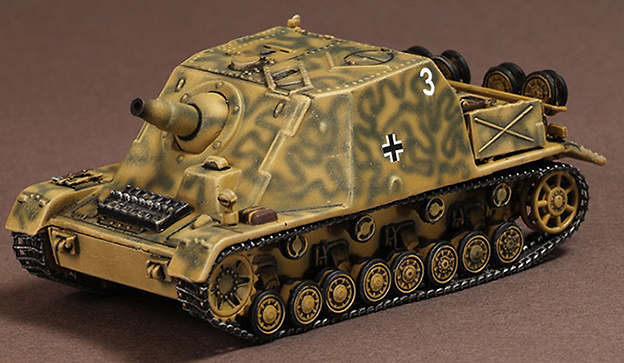 Alkett Sd.Kfz.166 Brumbar, Sturmpanzer Abt 216, Italy, 1944, 1:72, War Master