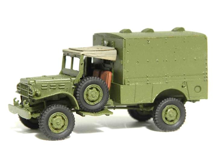 Ambulancia Dodge, 1:72, Wespe Models