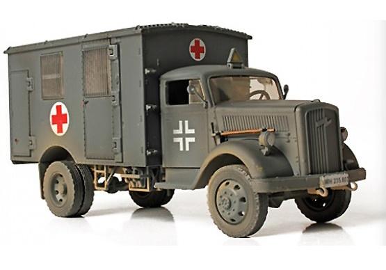 Ambulancia alemana 4x4, Francia, 1940, 1:32, Forces of Valor