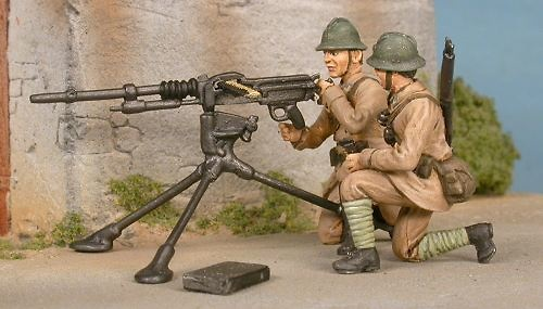French Hotchkiss 8 mm, France 1940, 1:48, Gasoline