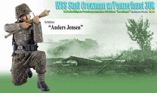 Anders Jensen (Fusilero), WSS StuG Tripulante w/Panzerfaust 30K, 11º División
