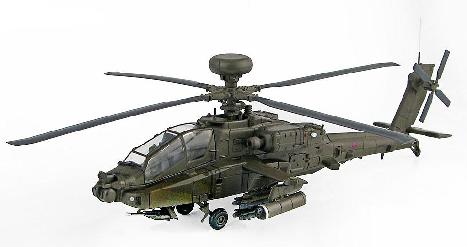 Apache AH-64D Longbow ZJ171, British Army Air Corps, Cosford Airshow, 2013, 1:72, Hobby Master