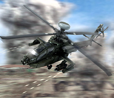 Apache Longbow, Iraq, 2004, 1:72, Forces of Valor