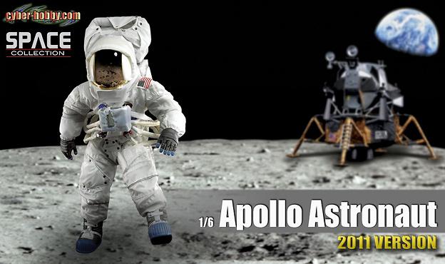Apollo Astronaut, Apollo 11 Commander, July 20 1969, 1:6, Dragon Figures