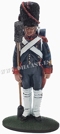 Artillero, Vieja Guardia, Francia, 1811, 1:30, Del Prado