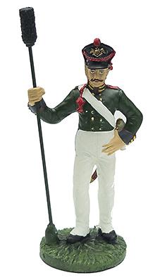Artillero de los Life Artillery Brigade NCO, 1812, 1:32, Eaglemoss