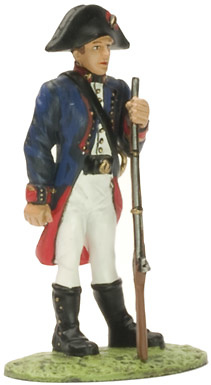 Artillero de marina, Ej. Español, 1805, 1:32, Altaya