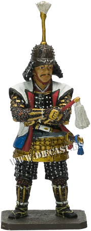 Asano Nagamasa, 1547-1611, Samurai, 1:30, Del Prado