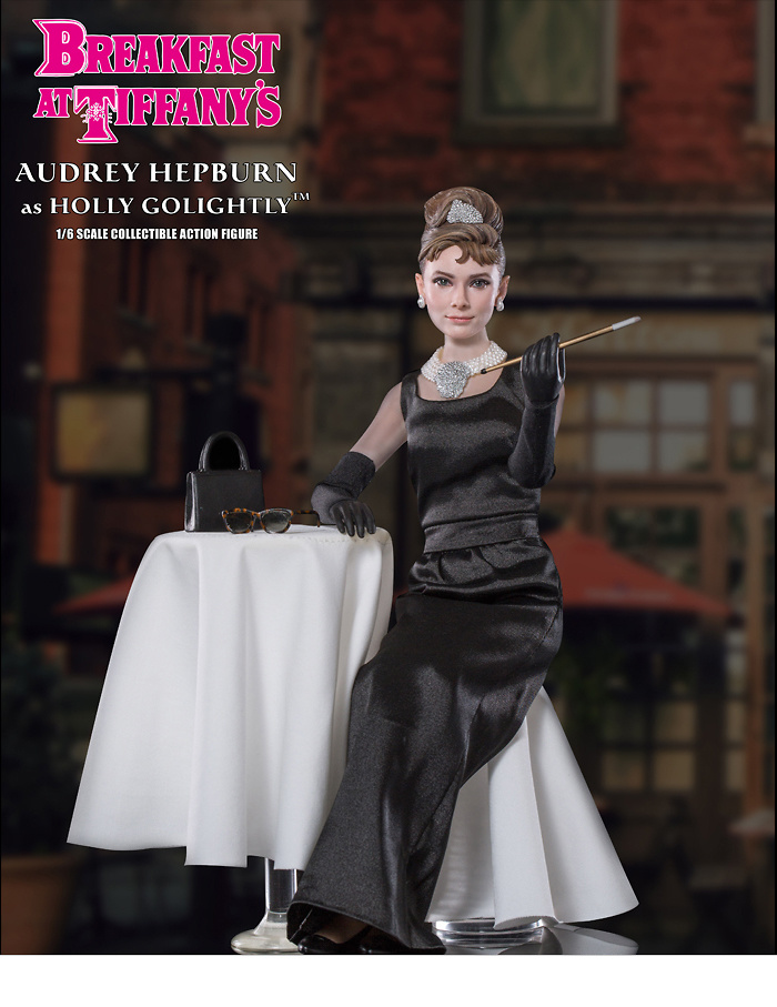 Audrey Hepburn como Holly Golightly en