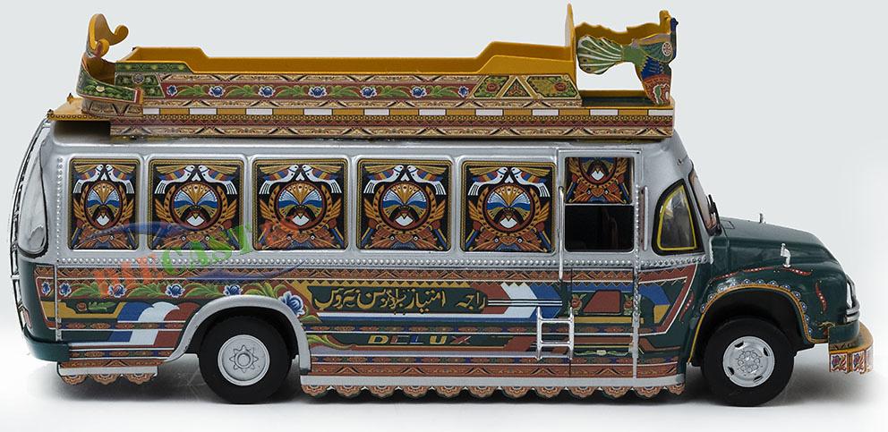 Autobús Bedford Rocket TJ, Paquistán, 1980, 1/43, Salvat