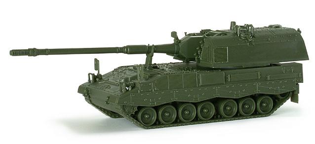 Autopropulsado Howitzer 2000 de las FF AA de la RFA, 1:87, Minitanks