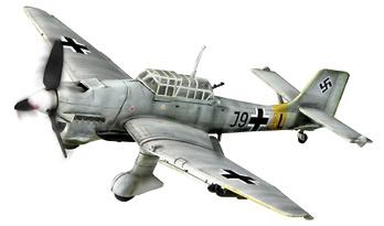 Avión JU 87B-2 ST.G 1, Frente del Este 1943, 1:72, Forces of Valor