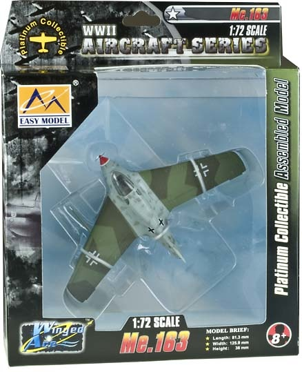 Avión Me. 163 B-1a, 1:72, Easy Model