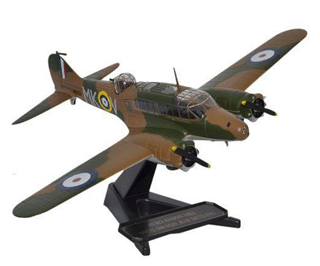 Avro Anson Mk1 500 Squadron RAF Detling, 1940, 1:72, Oxford