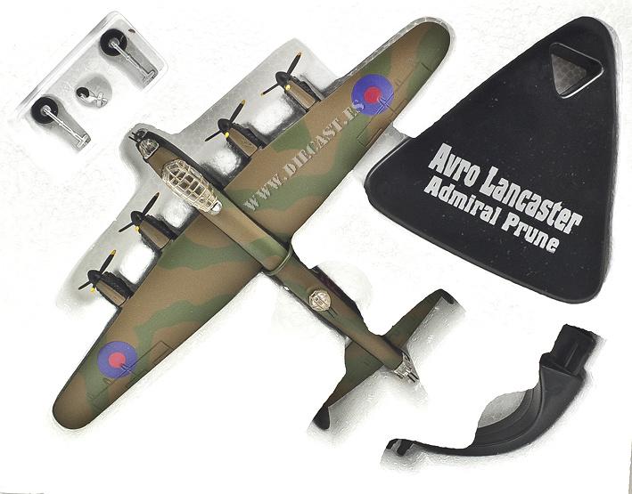 Avro Lancaster, Admiral Prune, RAF, 2ª Guerra Mundial, 1:144, Atlas