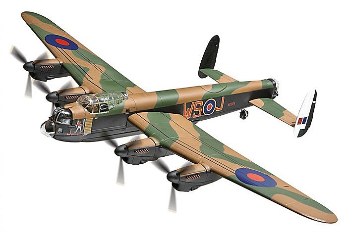 Avro Lancaster BI (Special), W4964 9 Sqn RAF 'Johnny Walker', 1:72, Corgi