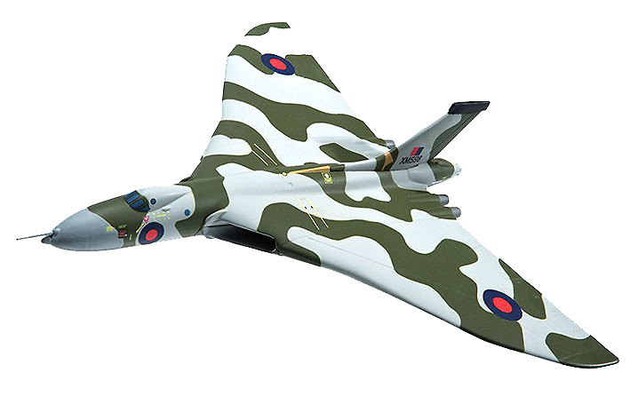 Avro Vulcan B.2. XM598, 50 Sqn, Wideawake Air Base, Ascension Island 1982 (Falklands 30th Anniversary), 1:44, Corgi