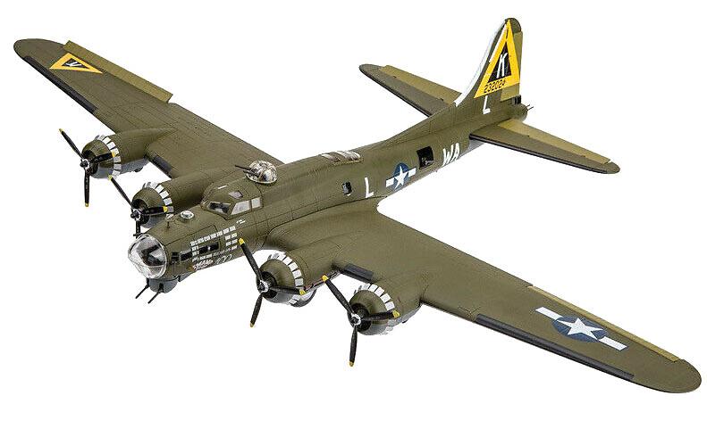 B-17G, USAAF 379th BG, 524th BS, Swamp Fire, RAF Kimbolton, Inglaterra, 1944, 1:72, Air Force One