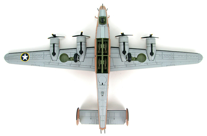 B-24D Liberator 98th Bomb Group, 343rd Bomb Sqn., (Y : Snow White and the Seven Dwarfs), 1943, 1:144, Hobby Master